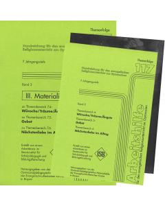 Themenfolge 117 Band 3 Handreichungen zum Lehrplan der 7. Jgst.