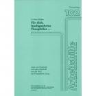 Thf 102 Lehrerheft Für dich, hochgeehrter Theophilus