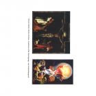 Farbdruck: Isenheimer Altar: Kreuzigung- und Auferstehungsteil